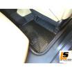 LEOMAX แผ่นเรียบปูพื้นพลาสติก PVC รุ่น BAVARIA ด้านหลังคนขับ แพคคู่ (สีดำใส)