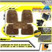 LEOMAX ชุด 5 ชิ้นถาดปูพื้นพลาสติก PVC รุ่น SKYLINE STD (สีดำใส)