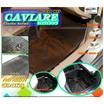 LEOMAX ถาดปูพื้นพลาสติก PVC ด้านหลังสำหรับ ECO CAR รุ่น CAVIARE ECO (สีดำใส)
