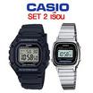 Casio เซต 2LA670WD-1D W-218H-1AVDF