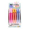 GLORIOUS ปากกาเจล Kiki Friends คละสี คละลาย (กล่อง 30 ด้าม)