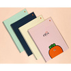 GLORIOUS สมุดบันทึกสันห่วง Carrot Cornell (คละสี1เล่ม)
