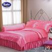 Satin Silk Touch ผ้าปูที่นอนแพรไหม ลาย P9 (ไม่มีระบาย)