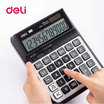 Deli M00720 เครื่องคิดเลขตั้งโต๊ะ 12 หลักขนาดใหญ่
