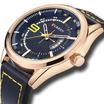 Curren นาฬิกาข้อมือผู้ชาย รุ่น C8295 ดำ/น้ำเงิน