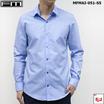 FM  เสื้อเชิ้ตแขนยาว (MFMAI-051-S5-OM) สี BLUE