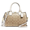 COACH F32203 MINI BENNETT SATCHEL IN SIGNATURE CANVAS (IMDQC) [MCF32203IMDQC]
