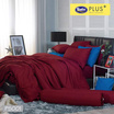 Satin Plus ผ้าปูที่นอน PS001  Cherry