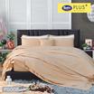 Satin Plus ผ้าปูที่นอน PS008 Almond
