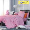 Satin Plus ผ้าปูที่นอน PS010 Orchid Pink