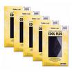 GOLDEN LEGS ถุงน่องเนื้อลินินเชียร์ซัพพอร์ท Cool Plus สีดำ รุ่น NSG-GLUP-08F Pack 5 คู่