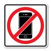 PANKOป้ายสัญลักษณ์ ห้ามใช้โทรศัพท์   12x12 ซม.