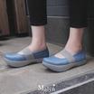MAGO รุ่น MALYN II สีฟ้า รองเท้าสุขภาพ