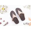 MAGO รุ่น LITA สีน้ำตาล รองเท้าสุขภาพ