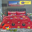 Satin Plus ชุดผ้าปูที่นอน+ผ้านวม Angry Birds PL016