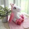 Unicorn ตุ๊กตาม้ายูนิคอร์น สีชมพูเข้ม 10 นิ้ว