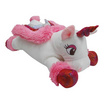 Unicorn ตุ๊กตาม้ายูนิคอร์นหมอบ สีชมพูเข้ม 12 นิ้ว