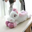 Unicorn ตุ๊กตาม้ายูนิคอร์นหมอบ สีชมพูอ่อน 20 นิ้ว