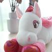 Unicorn ตุ๊กตาม้ายูนิคอร์นหมอบ สีชมพูเข้ม 20 นิ้ว