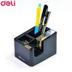 Deli 809 แท่นตัดเทป+ช่องใส่เครื่องเขียน (คละสี)