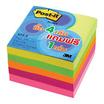 Post-it Notes ขนาด 3x3 คละสี 500 แผ่นต่อแพ็ค (4 เล่ม แถม 1 เล่ม)