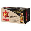 เอ็ม-150 สูตรผสมกระชายดำและน้ำผึ้ง 100 มล. (ยกลัง 50 ขวด)
