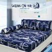 Aena ชุดผ้าปูที่นอน Sailing on the Sea 5 ฟุต