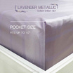 Aena ชุดผ้าปูที่นอน LAVENDER METALLIC 5 ฟุต (58x78 นิ้ว)