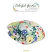"Aena ผ้าห่มนวมลายดอกไม้ Colorful Garden 74""x100"""