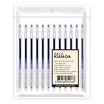 ปากกาเจลหมึกน้ำเงิน U-Slim 0.5มม. KIAN-DA (แพ็ก12ด้าม)