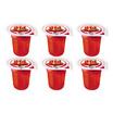 ปีโป้ เยลลี่สตรอเบอร์รี่แบบถ้วย 135กรัม แพ็ก 6 (3 แพ็ก)