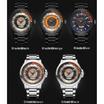 Curren นาฬิกา รุ่น C8229ดำ/เงิน