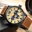 Curren นาฬิกาข้อมือ  C8247น้ำตาล/ครีม