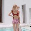 Wolfox Swimwear 2 Piece Brick Brown