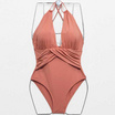 Wolfox Swimwear One Piece Salmon Orange