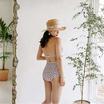 Wolfox Swimwear 2 Piece Vintage Brown