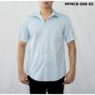 FM เสื้อเชิ้ตแขนสั้น (MFMCB-008-S5) สี BLUE