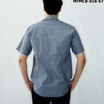 FM เสื้อเชิ้ตแขนสั้น (MFMCB-018-S7) สี NAVY