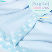 Homrak ผ้าห่ม Pastel Polka Dot 30x40 นิ้ว