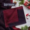 Homrak ผ้าห่มลาย Brick สีกรมท่าเลือดหมู 51x67 นิ้ว