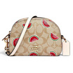 COACH 2627 MINI SERENA CROSSBODY IN SIGNATURE CANVAS WITH WATERMELON PRINT (IMR0Q) [MC2627IMR0Q-CV]