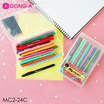 DONG-A mycolor2 ปากกาสีชุดเซ็ท 24 สี MC2-24C