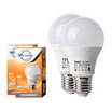 TFC หลอด LED A60 ECO 10 วัตต์ ขั้ว E27 แสงเดย์ไลท์ -ขาว / 2ชิ้น