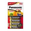 พานาโซนิคถ่านอัลคาไลน์ AA แพ็ค4 ก้อน