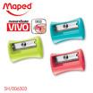 Maped กบเหลาดินสอ VIVO แพ็ก3ชิ้น คละสี (4 แพ็ก)