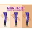 Deesay รองพื้น Nian Liquid Primer & Foundation SPF30 PA+++ No.2 Nude (2 ชิ้น) ฟรี ฟองน้ำแต่งหน้า