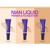 Deesay รองพื้น Nian Liquid Primer & Foundation SPF30 PA+++ No.3 Honey (2 ชิ้น) ฟรี ฟองน้ำแต่งหน้า