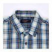 GALLOP CASUAL SHIRT เสื้อเชิ๊ตลายสก็อตแขนสั้น สีน้ำเงิน