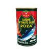 โรซ่า ปลาซาร์ดีนในซอสมะเขือเทศ 155 กรัม (แพ็ก 4 ชิ้น)