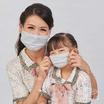 หน้ากากผ้า รุ่นเซฟการ์ด (แอนตี้ไวรัส&แอนตี้แบคทีเรีย) สไตล์ยุโรป (เด็ก 6-10 ปี)- สีเทา
